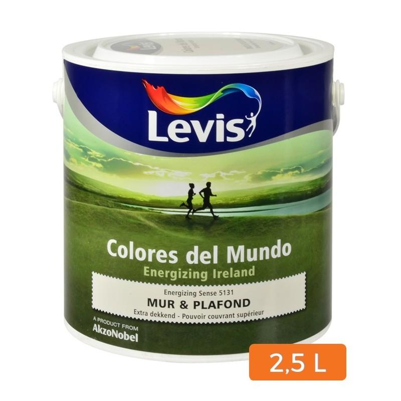 Levis colores del mundo muur en plafond verf 2 5l - Colores del mundo bruguer simulador ...