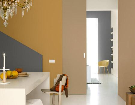 Kleurenwaaier voor uw woonkamer painttrade for Zandkleur muur
