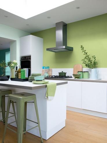 Verfkleuren voor de keuken painttrade - Welke kleur in een keuken ...