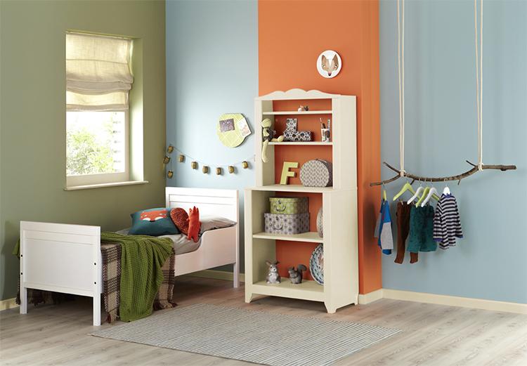Babykamer Behang Gamma : speel met kleur in de babykamer - Painttrade