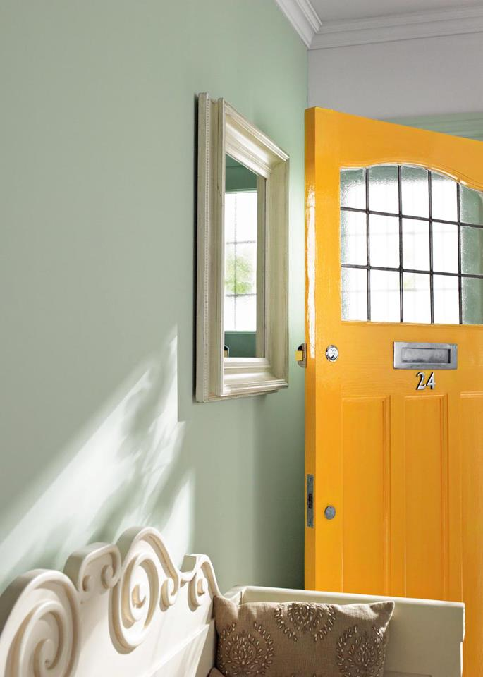 Couleurs pour hall d 39 entr e et couloir painttrade for Couloir d entree