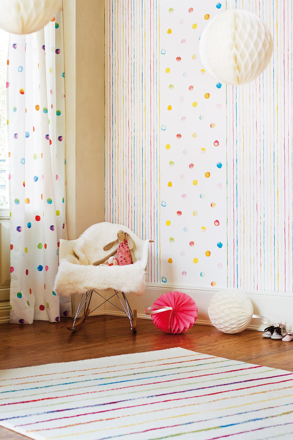 Speel met kleur in de babykamer - Painttrade