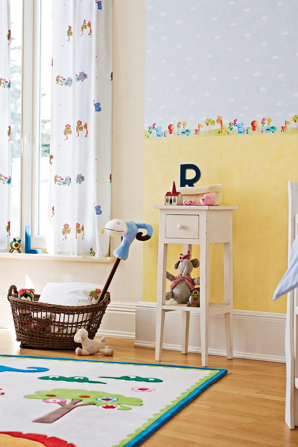 Speel met kleur in de babykamer   painttrade