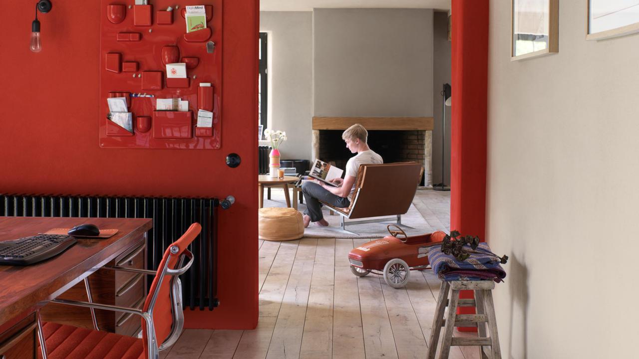 Trendy kleurideeën voor uw bureau   painttrade