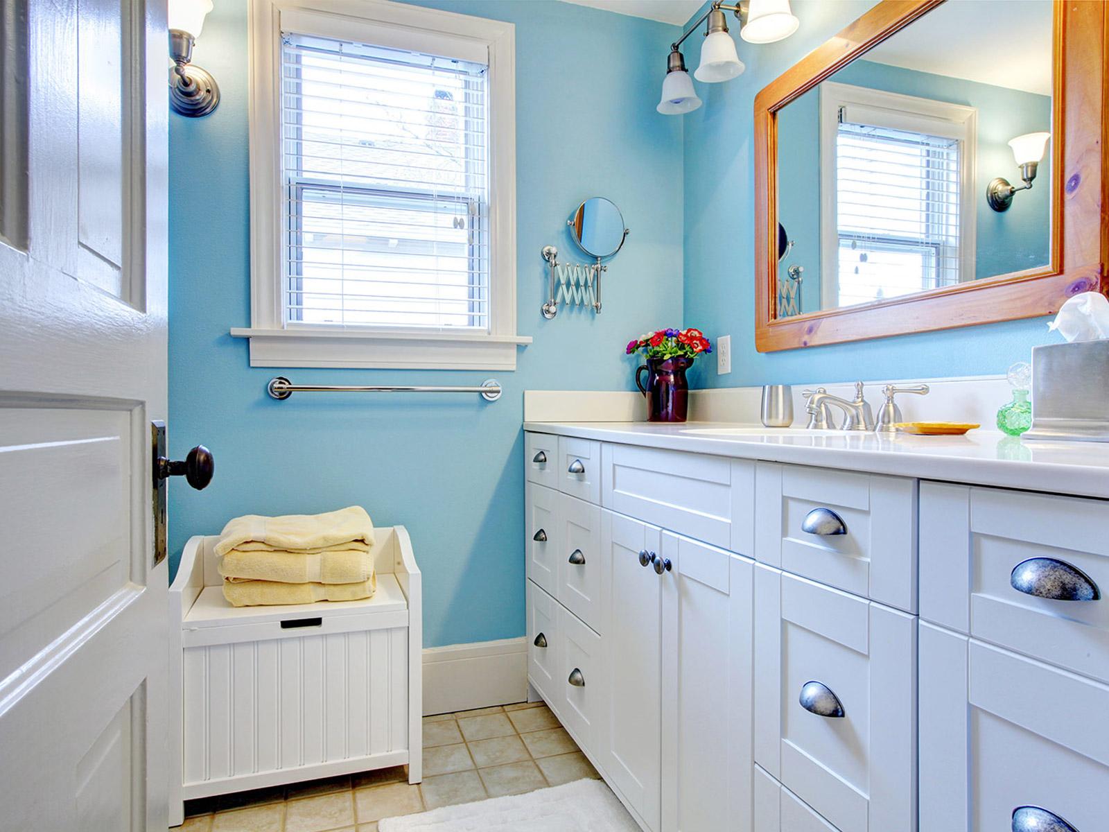 Idee couleur salle de bain sans fenetre solutions pour la d coration int ri - Idee salle de bain couleur ...