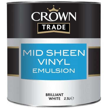 Peinture Crown Trade Mid Sheen Vinyl