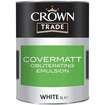 Crown Trade Covermatt Emulsion verf
