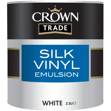 Crown Trade Silk Vinyl Emulsion verf