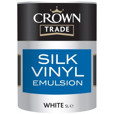 Peinture Crown Trade Silk Vinyl Emulsion