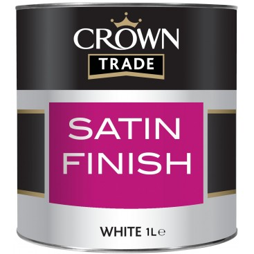 Crown Trade Satin Finish verf