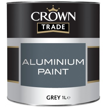 Crown Aluminiumverf 1L