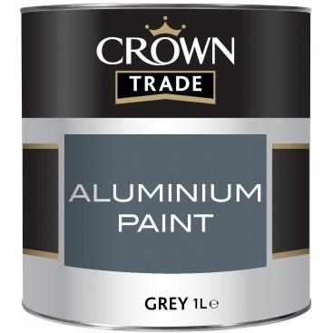 Peinture Crown pour aluminium 1L