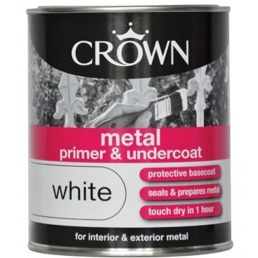 Crown acryl grondverf voor metaal 0.75L