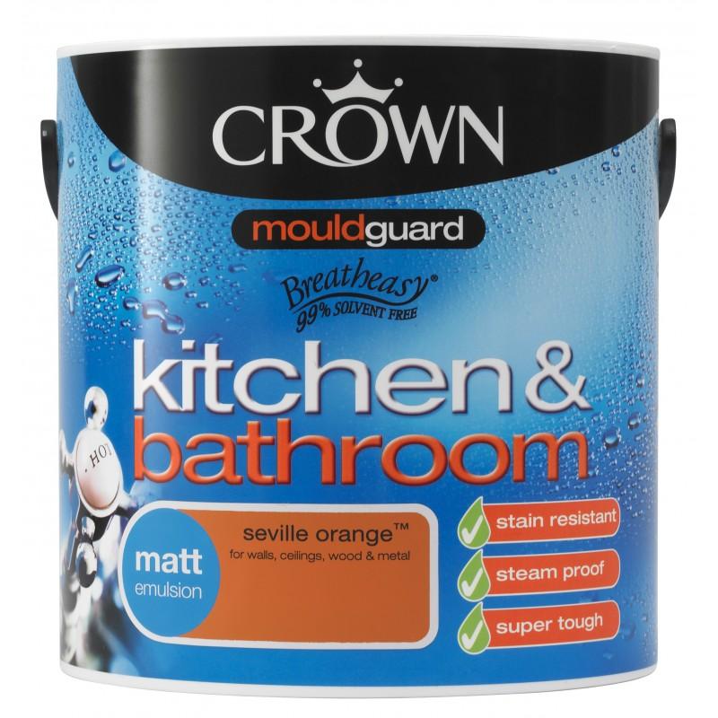 Peinture l 39 eau pour cuisine et salle de bain - Peinture anti eau ...