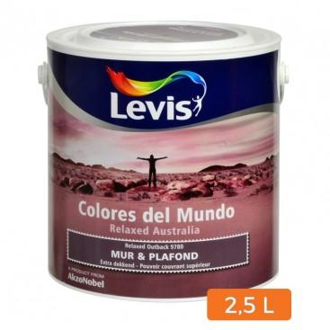 Levis Colores del Mundo muur en plafond verf 2.5L