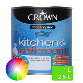 Peinture à l'eau pour cuisine et salle de bain