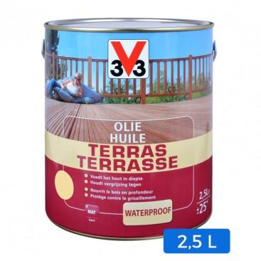 Huile terrasse incolore 2.5 L
