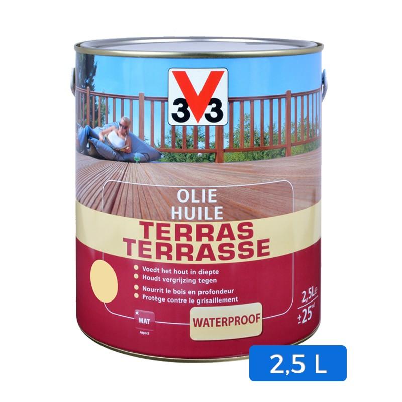 huile terrasse incolore 2 5 l. Black Bedroom Furniture Sets. Home Design Ideas