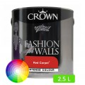Peinture à base d'eau Fashion for Walls 2.5 L