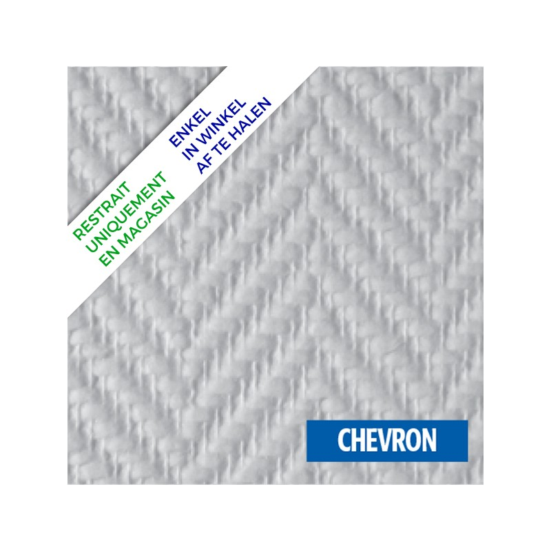 Chevrons De La Terrasse En Palette Europe: Fibre De Verre Toile Chevron