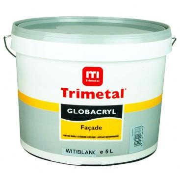 Peinture satinée Globacryl façade