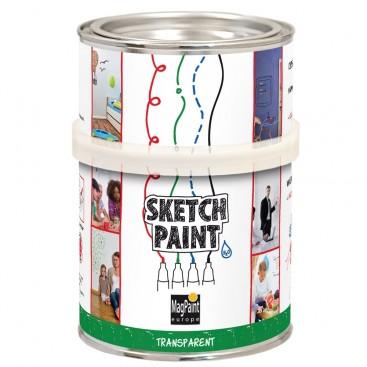 Peinture pour créer un tableau blanc effaçable