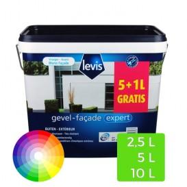 Levis Muur Buiten witte verf 5L+1L gratis