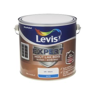 Laque Levis expert satin blanc 2.5L