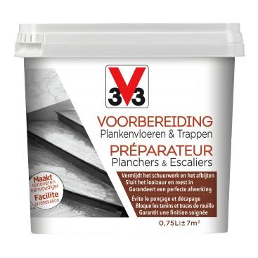 V33 Voorbereiding Plankenvloeren & Trappen 0.75L