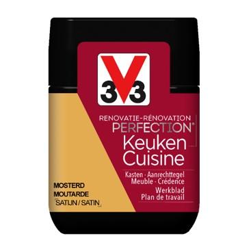 De renovatieverf Perfection V33 voor keukens