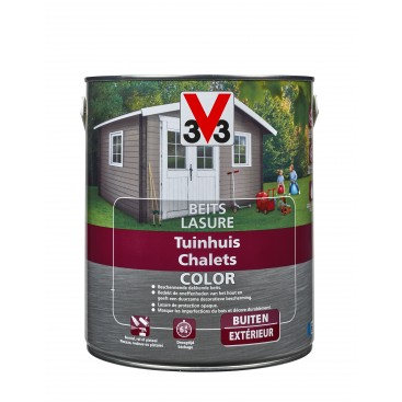 V33 Lazuur tuinhuis color