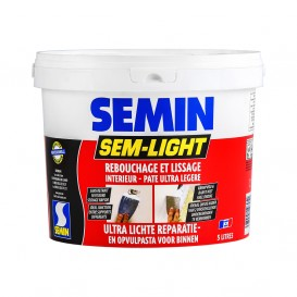 Reparatie opvulpasta Sem Light Semin 1L