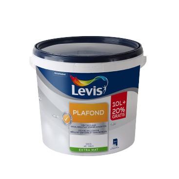 Peinture Levis plafond 10 + 2 L