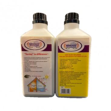 Additif nano- céramique pour peinture isolante