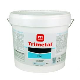 Peinture murale Trimetal mat blanc 10L