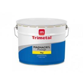 Magnacryl Prestige Mat verf van Trimetal 10L wit