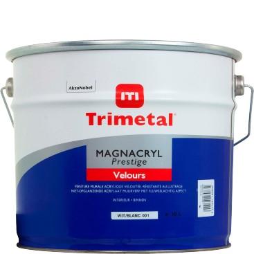Magnacryl Prestige Velours 10L wit Trimetal