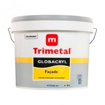 Peinture satinée Globacryl façade Trimetal 10L