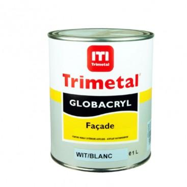 Peinture satinée Globacryl façade Trimetal