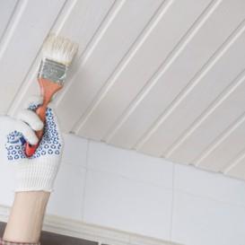 Welke verf is het meeste geschikt voor een houten plafond painttrade - Verf een houten plafond ...
