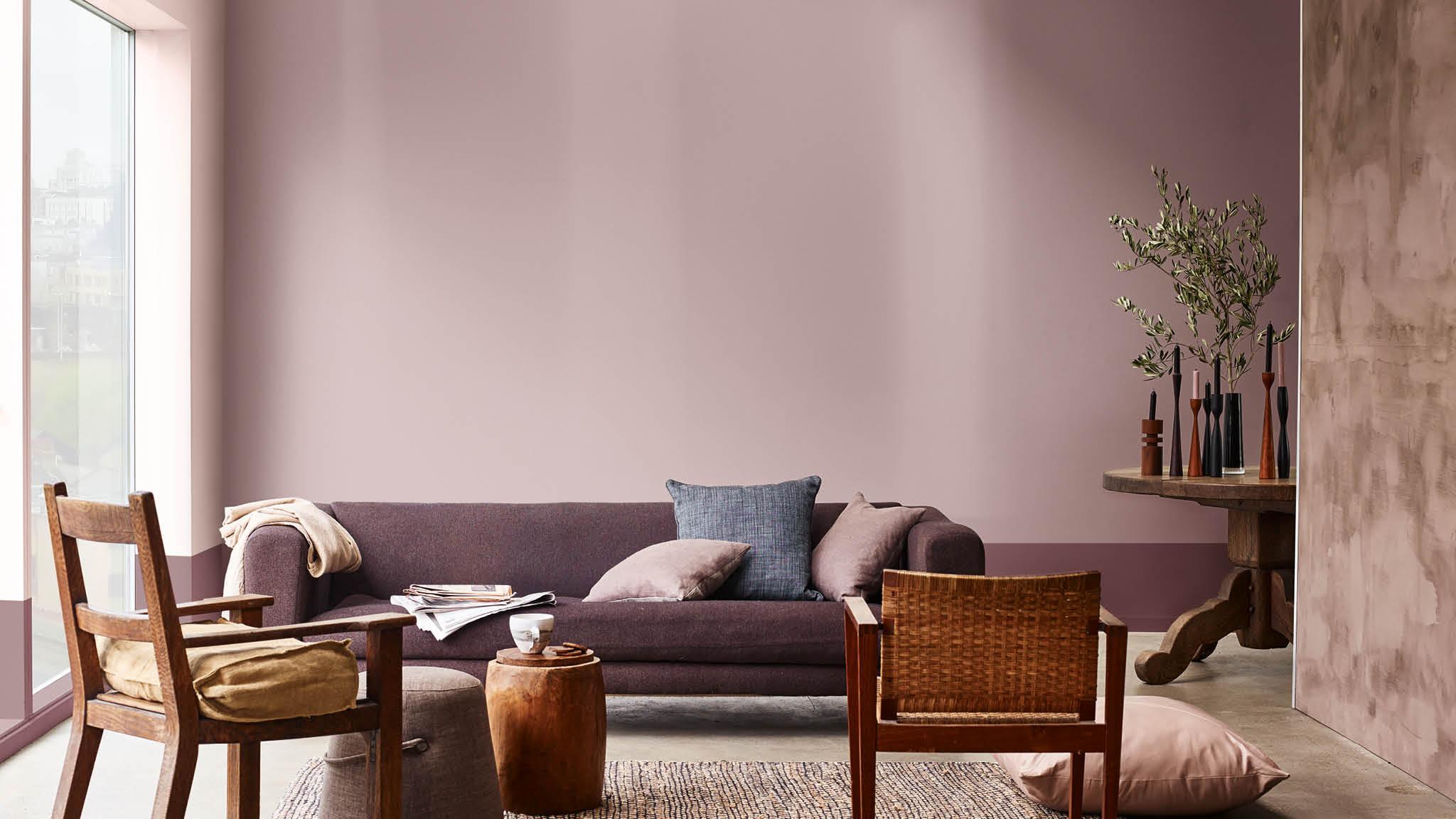 Taupe Kleur Interieur : Interieur verftinten: de 7 kleurtrends van het jaar 2018 decoratieblog