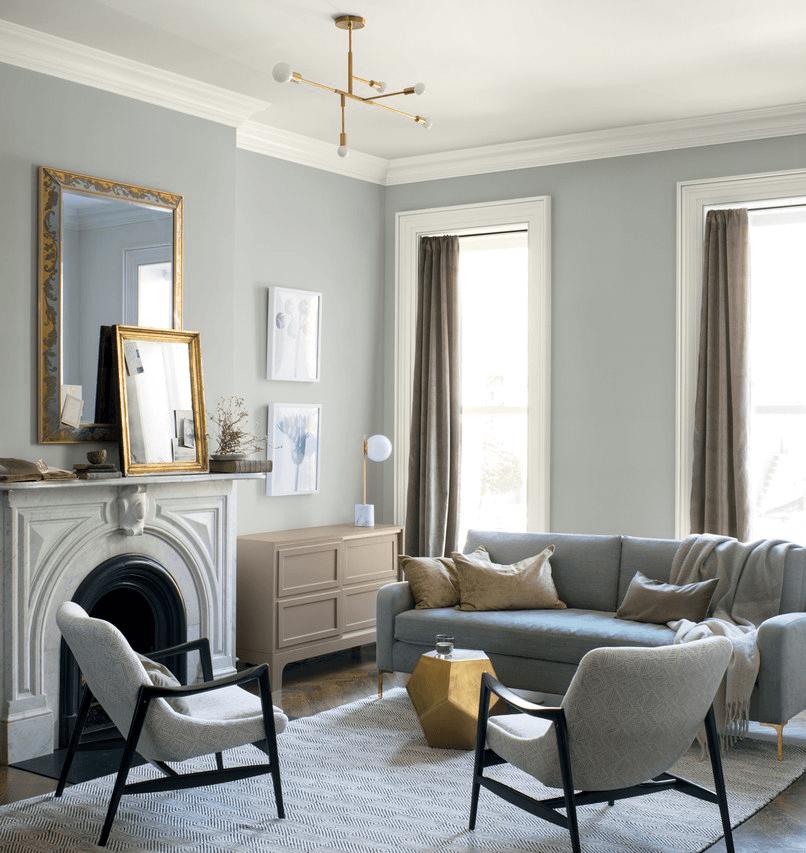 Metropolitan, couleur 2019 de Benjamin Moore