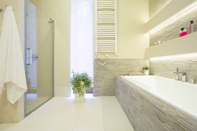 Kleurenideeën voor een relaxte badkamer - Painttrade