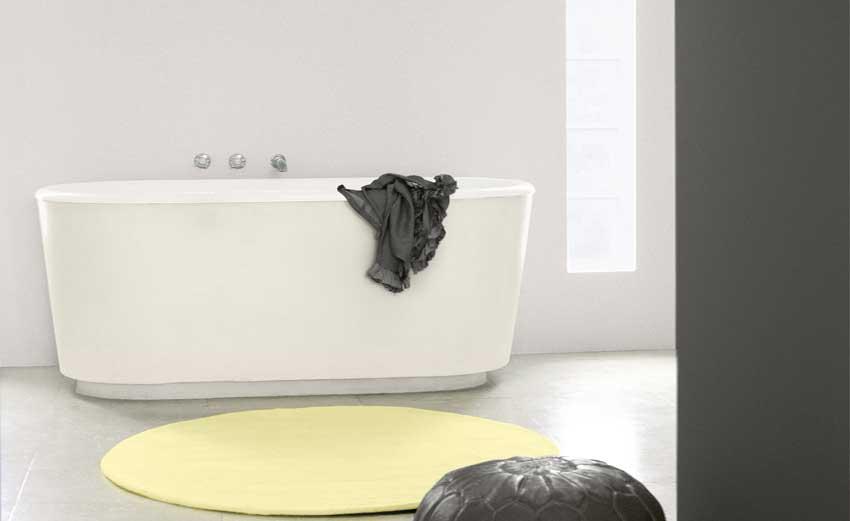 Kleurenidee n voor een relaxte badkamer painttrade - Kleur harmonie leven ...
