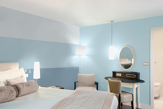 Verfkleuren combineren in de slaapkamer painttrade for Inspiration couleur chambre