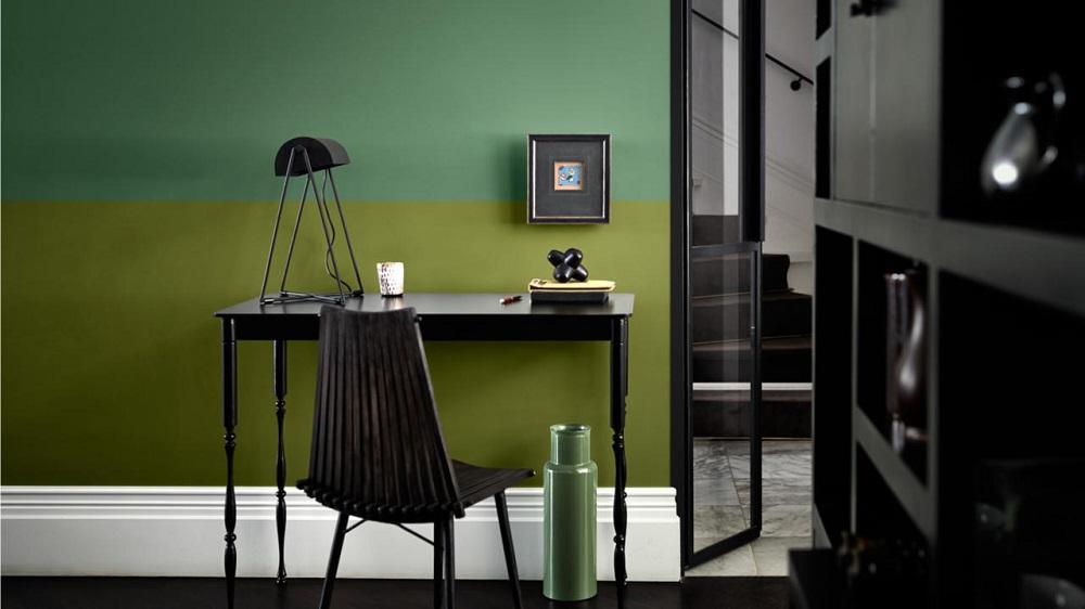 Houten Bureau Verven.Trendy Kleurideeen Voor Uw Bureau Painttrade