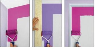 Quel rouleau peinture utiliser painttrade - Bien peindre un plafond au rouleau ...