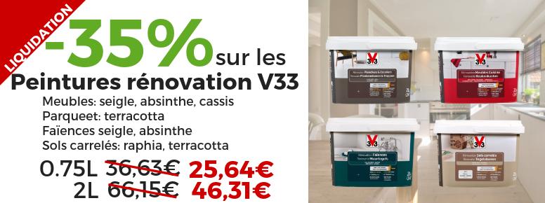 v33 renovation promotions