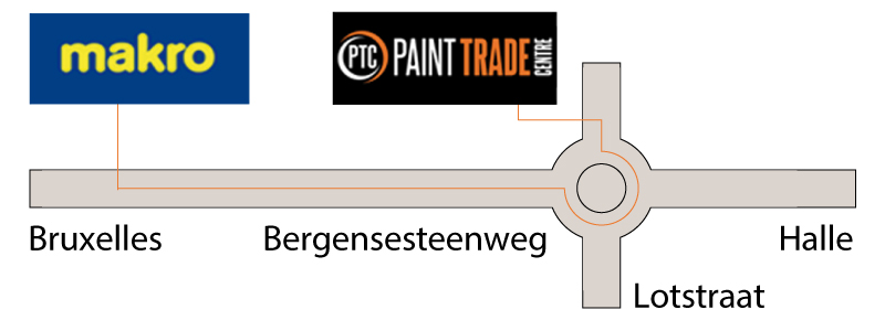 magasin peinture Bruxelles