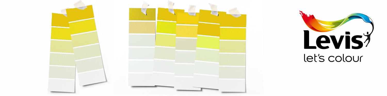 Levis kleurenwaaier geel